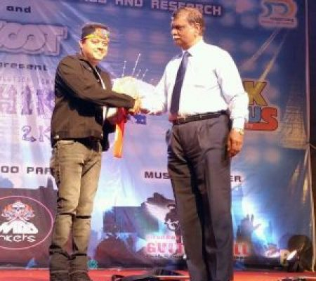 Kiran Roy invited as Chief Guest and to give a motivational speech to all students at Bharti Vidyapeeth Management college