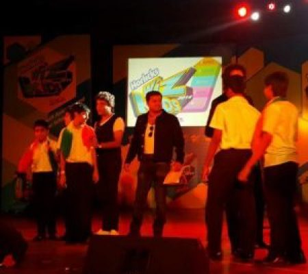 Kiran Roy guest of honour and chief Guest at Asia's largest international inter school music competition Horlics Wizkids.